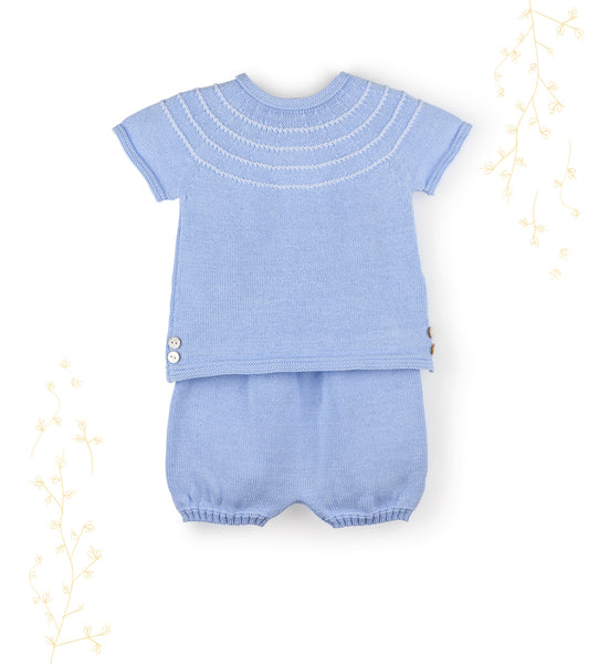 Baby Marine Knit Set
