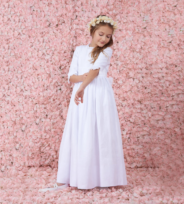 Blanca Traditional First Communion Dress