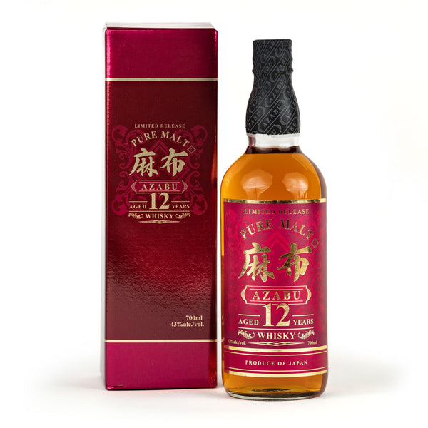 *AZABU 12-YEAR AGED PURE MALT WHISKY 700ML