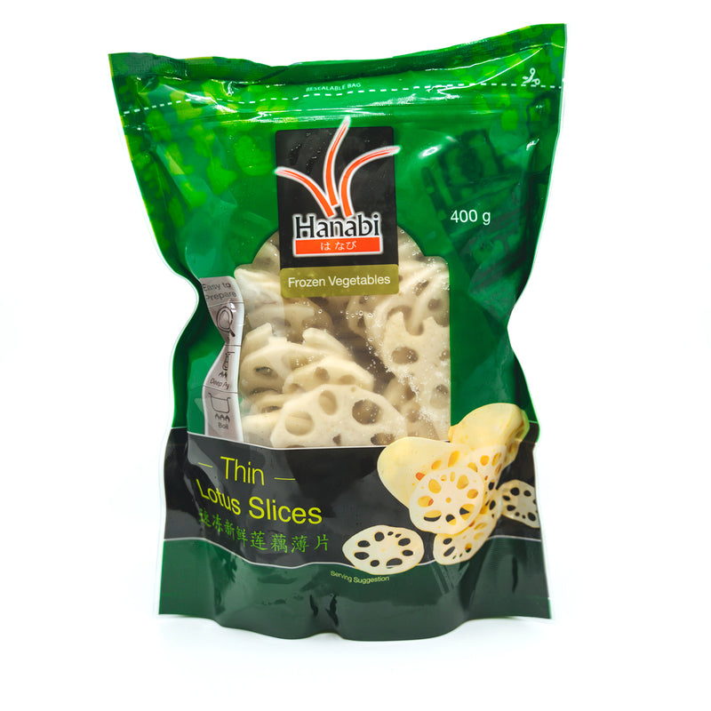 THIN LOTUS SLICES 400g
