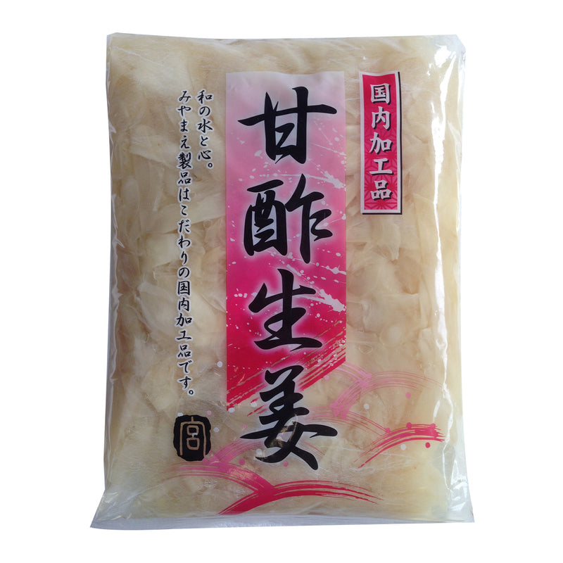 GARI WHITE PICKLED GINGER 1kg