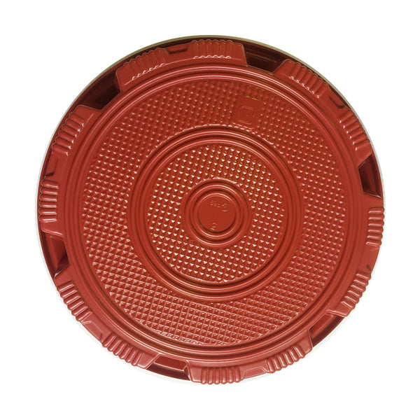 *SUSHI OKE ROUND FOOD PACKAGING  RED