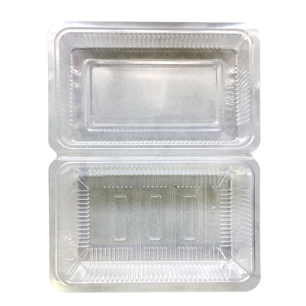 H-1-A SUSHI PACK 4 ROLLS FOOD PACKAGING TAKEAWAY CONTAINER / 100 PC