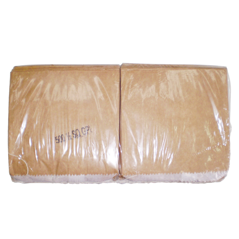 *1LG GPL BROWN PAPER BAG 500PC