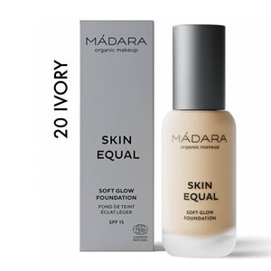 SKIN EQUAL Organic Foundation con SPF15 IVORY 20
