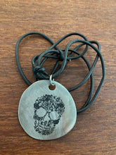 Load image into Gallery viewer, Sugar Skull Pendant