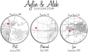 Customizable Love Story Poster
