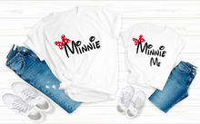 Load image into Gallery viewer, Minnie and minnie me shirt