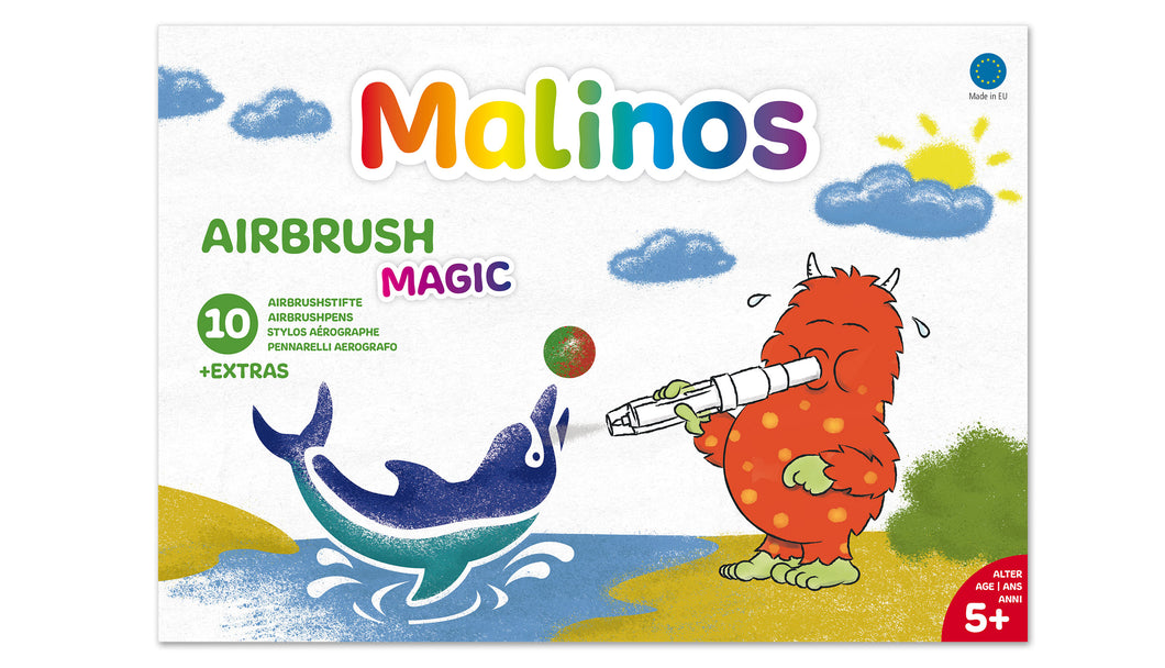 Malinos Airbrush Magic 10 + 1