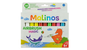 Malinos Airbrush Magic 10 inkl. 4 Schablonen