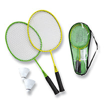 Laden Sie das Bild in den Galerie-Viewer, SUNFLEX BADMINTONSET MATCHMAKER JUNIOR