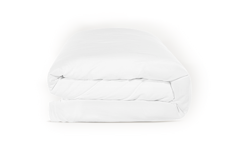 Luxuriously Soft Duvet Cover Protecting a Hypoallergenic Down Alternative Comforter