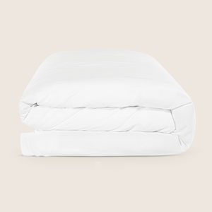 Hotel Quality Queen-Size Luxuriously Soft 400 Thread-Count Duvet Cover. Breathable 100% Cotton with Hassle-Free Ribbon Ties.