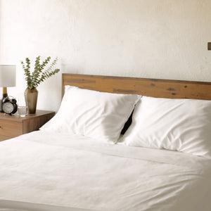 Affordable 400 Thread-Count Cotton Sateen Sheets that are Luxuriously Soft. OEKO-TEX Certified Nontoxic and Breathable.