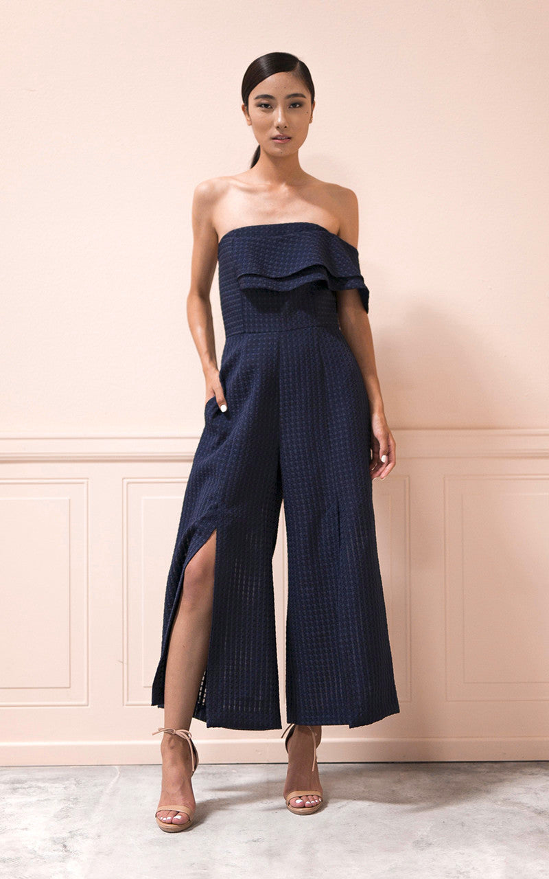 Mari Jumpsuit in Navy