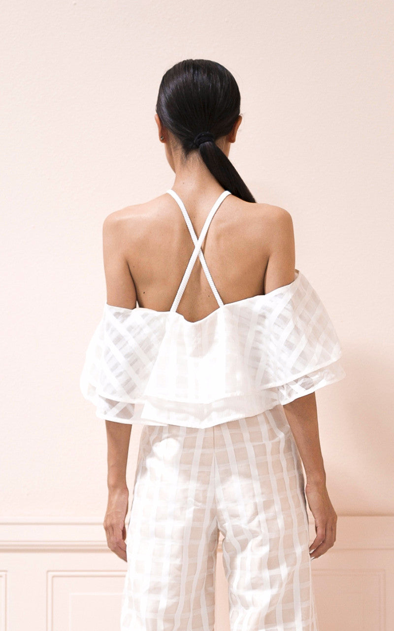 SALE | Camille Top in Grid