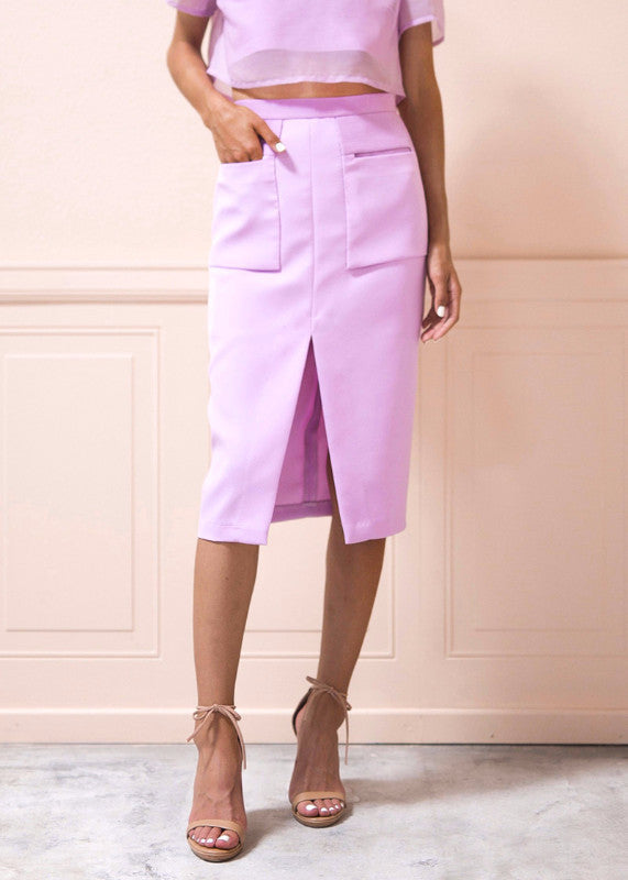 Olivia Skirt in Lilac