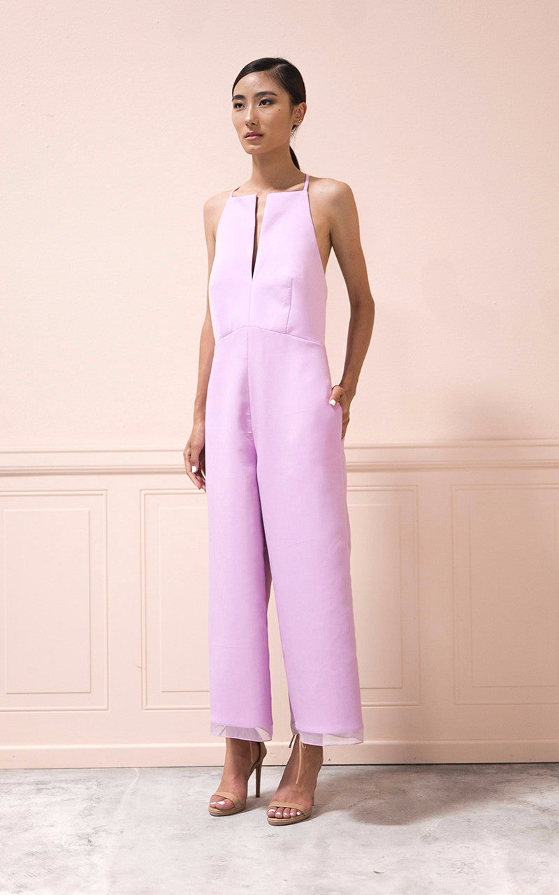 Theresa Jumpsuit in Lilac