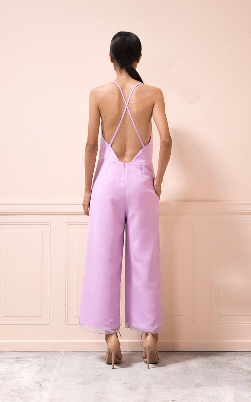 SALE | Theresa Jumpsuit in Lilac