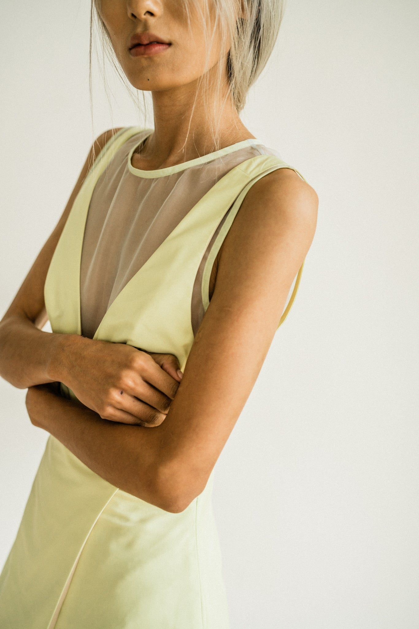 Maran Dress in Apple Green