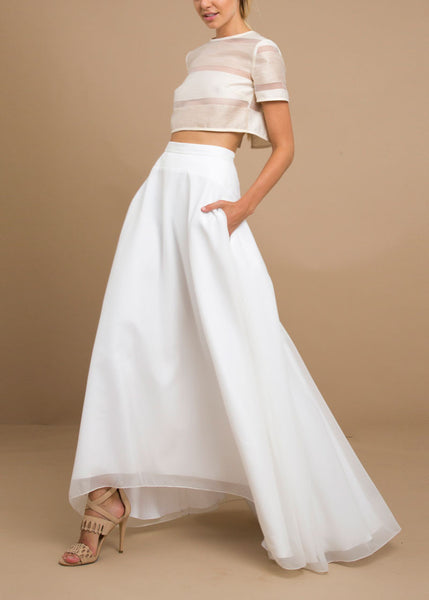 Liukin Skirt in White