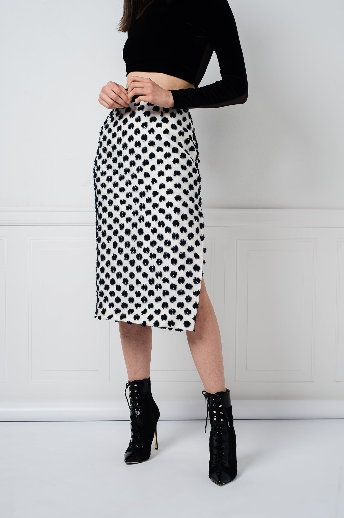 Sammie Skirt in Ink Blot