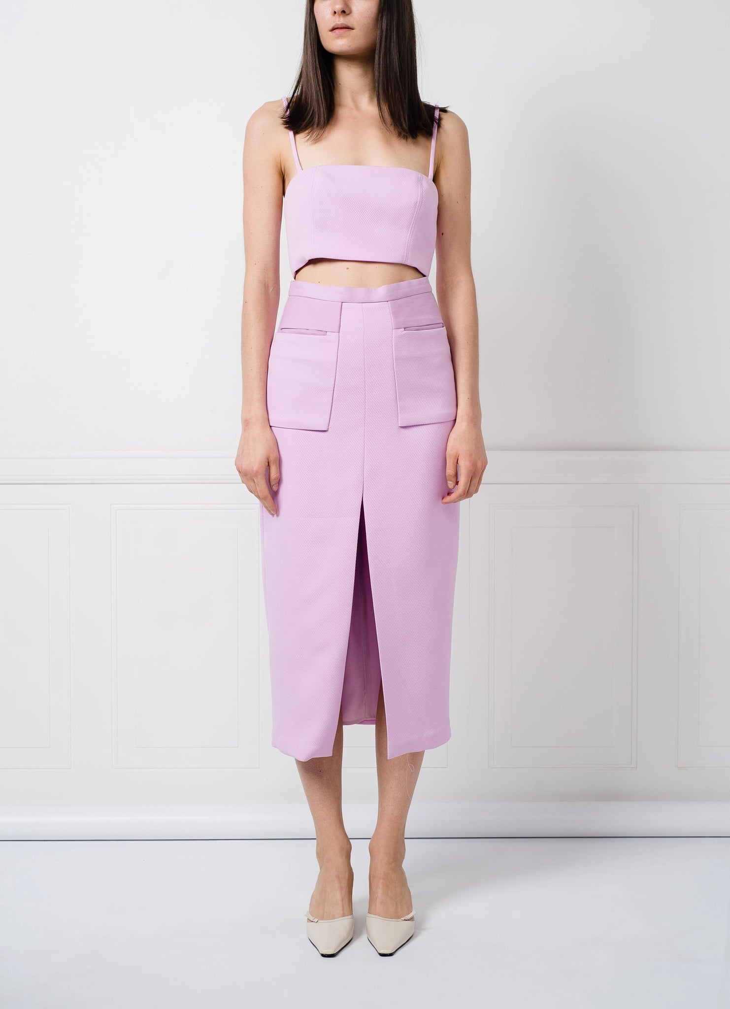 SALE | Meg Top in Lilac