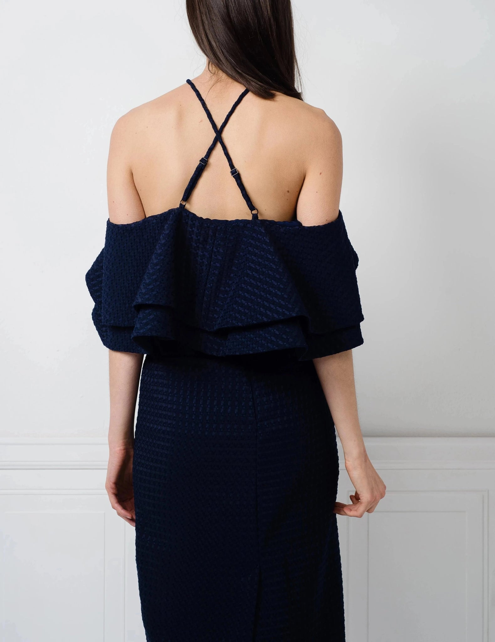 SALE | Camille Top in Navy