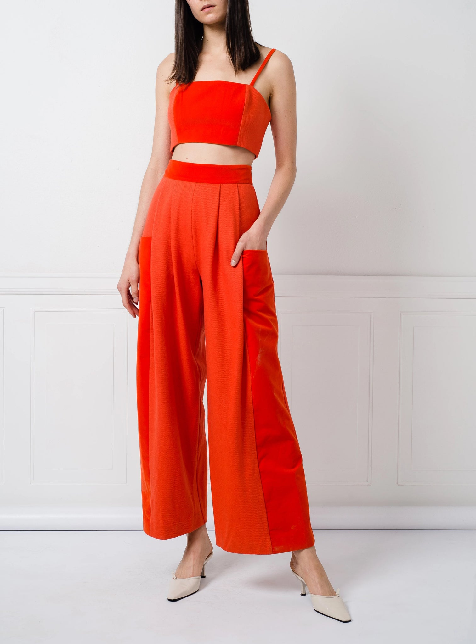 SALE | Paige Pants in Orange