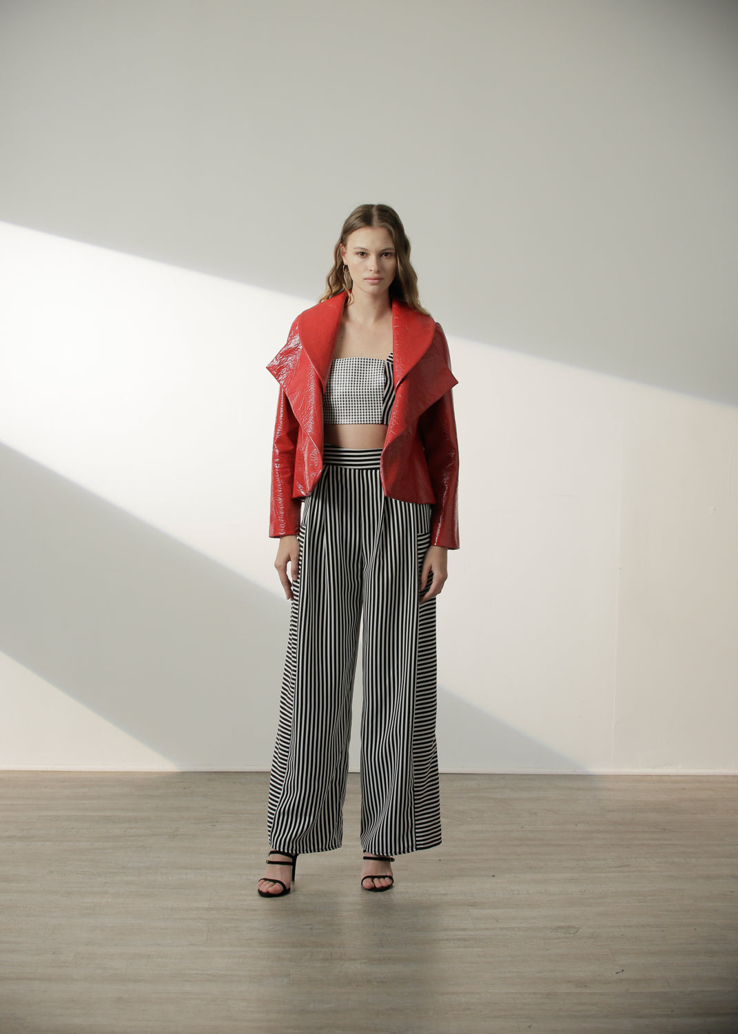 Hardwicke Coat in Red