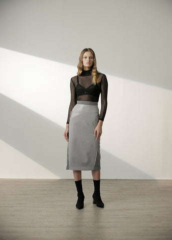 Shayda Skirt in Black
