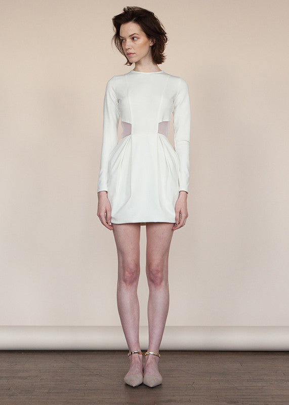 Alena Dress in White