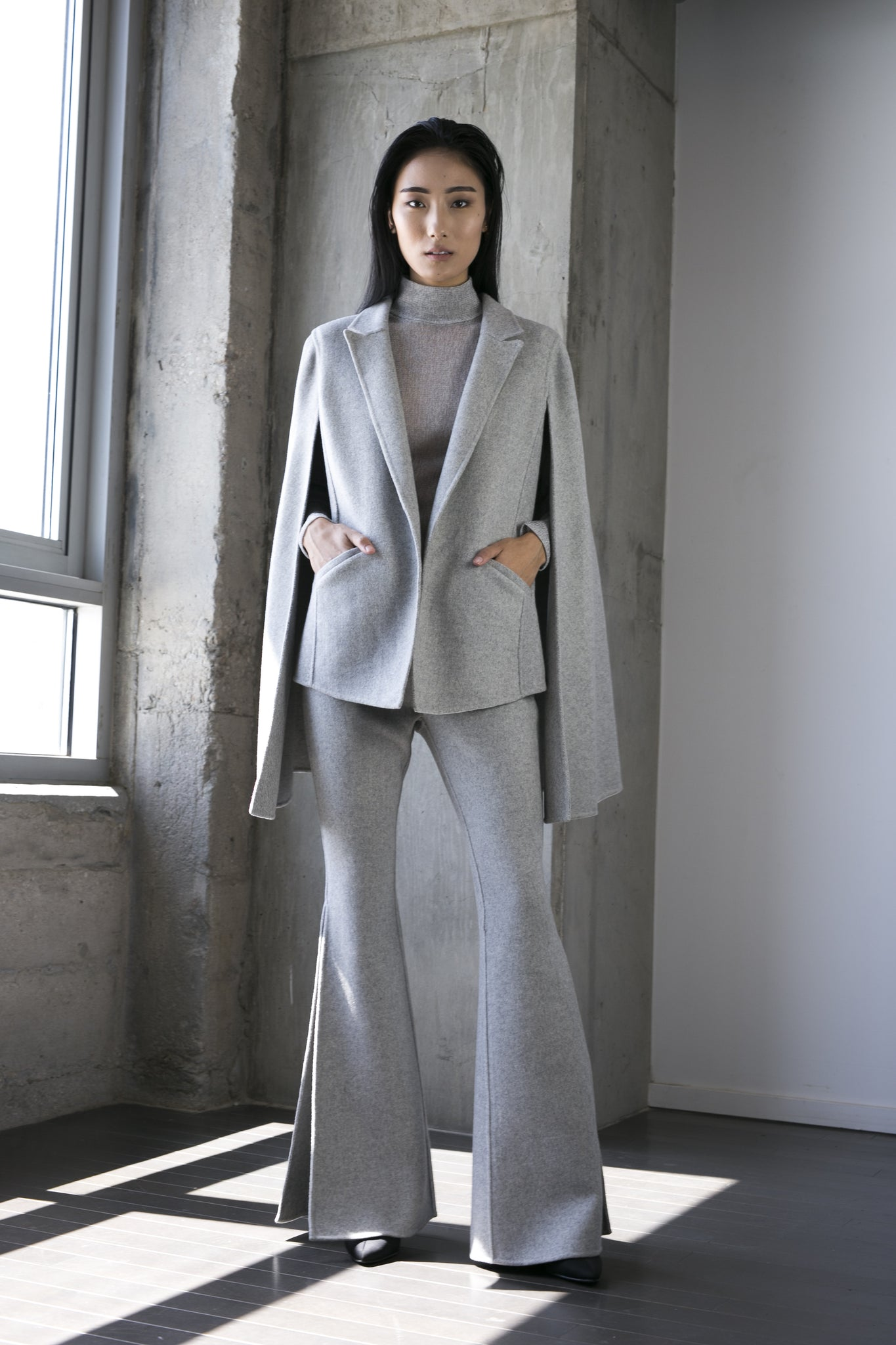 Gurung Pant in Grey