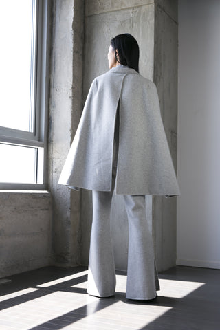 Madeline Cape in Grey