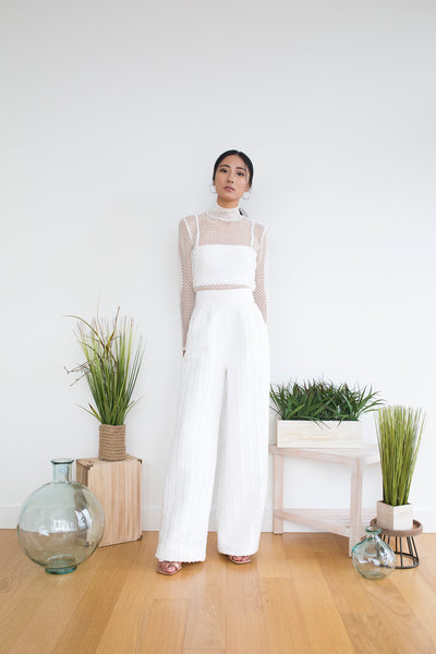 Morgan Pant in White