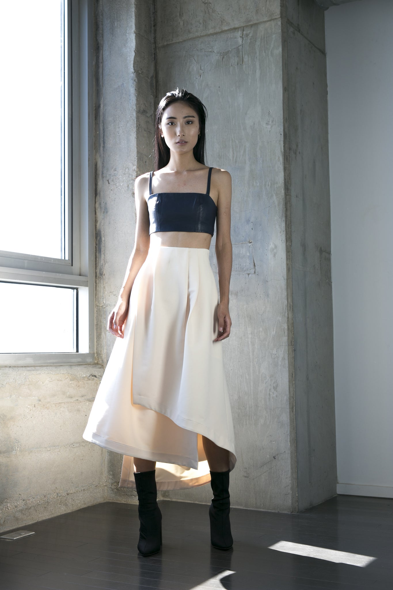 Kiok Skirt in Cream