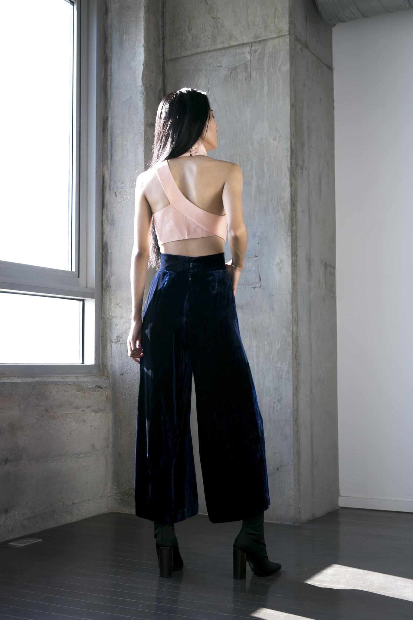 Morgan Pant in Velvet