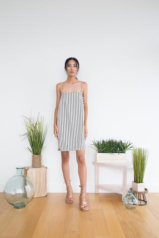 Cathy Dress in Pearl White