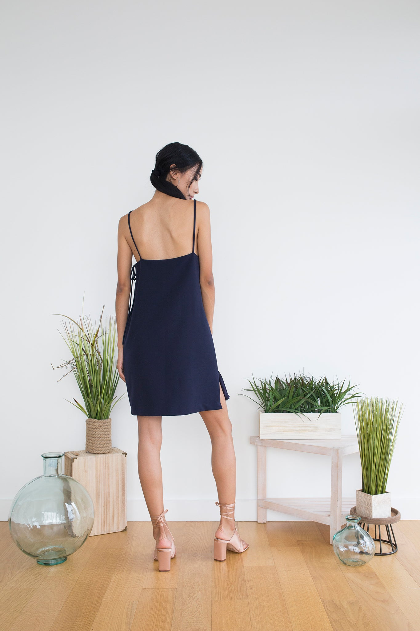 Gemma Dress in Navy