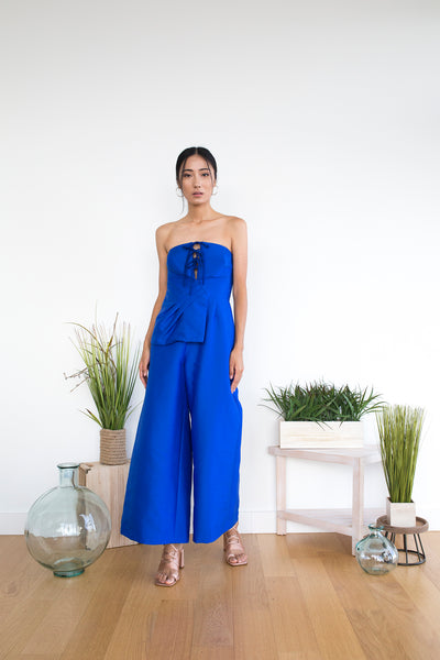 Galloro Jumpsuit in Nautical Blue