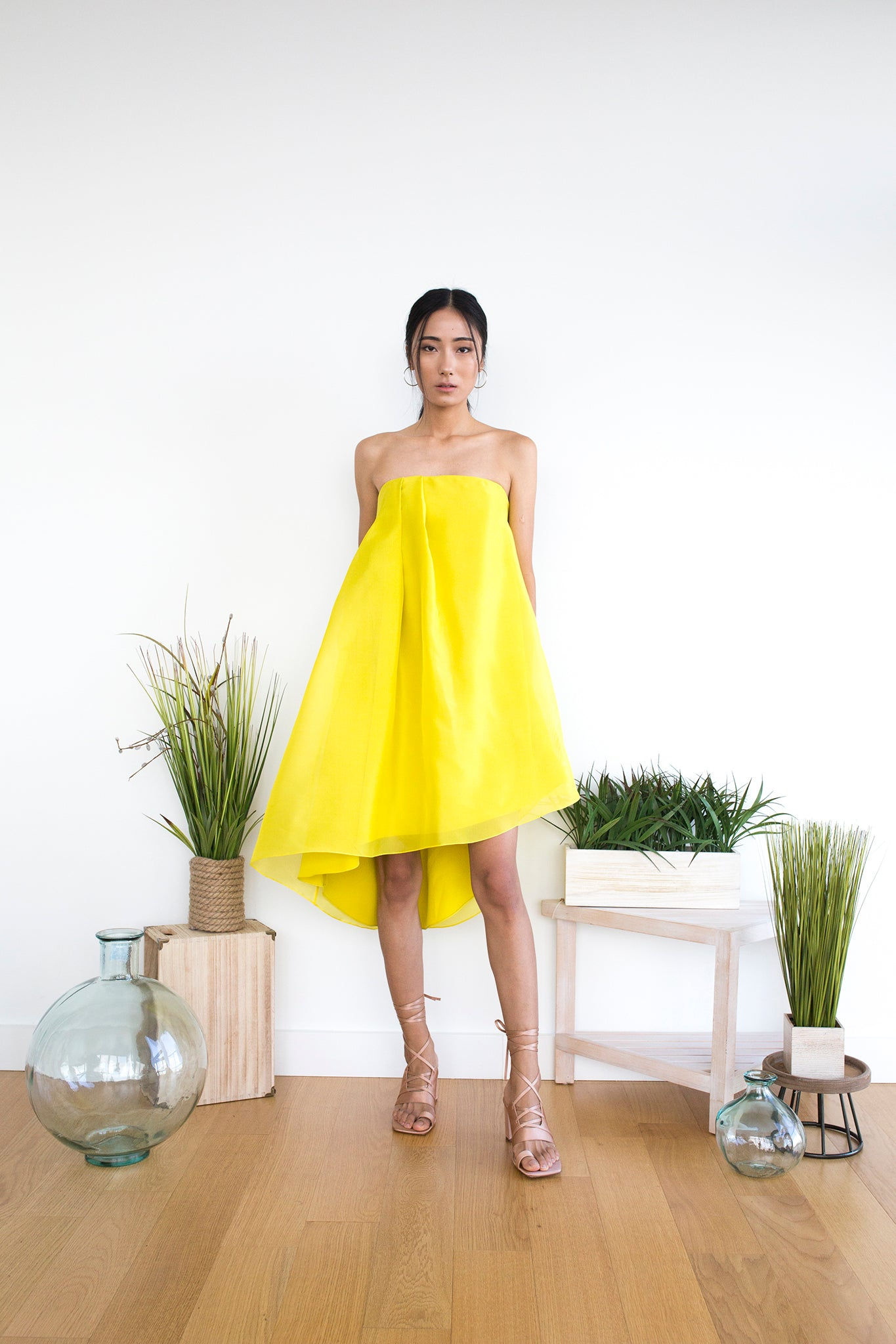 Swanson Dress in Citrine