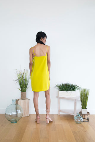 Gemma Dress in Citrine