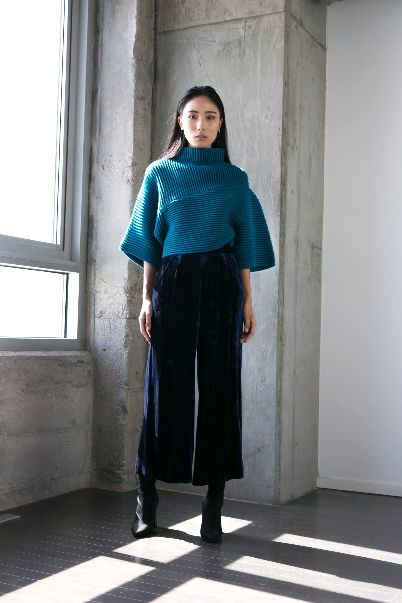 Nicole Sweater in Teal