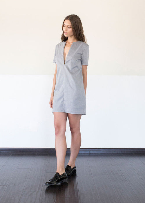 Annie Dress in Steel