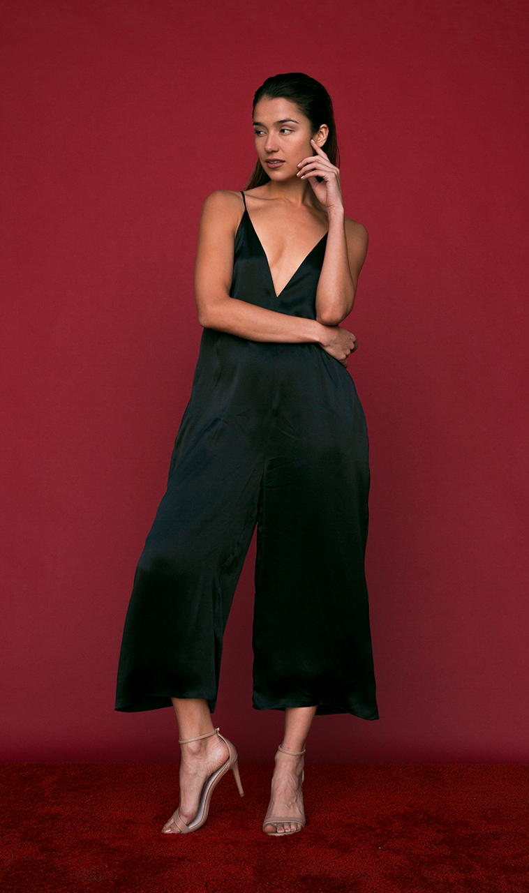 Ashley Jumpsuit in Black