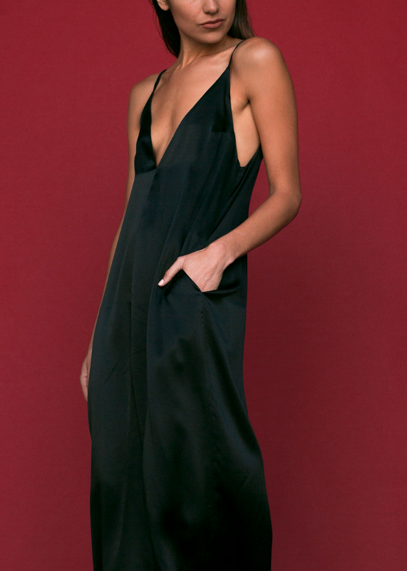 SALE | Ashley Jumpsuit in Black