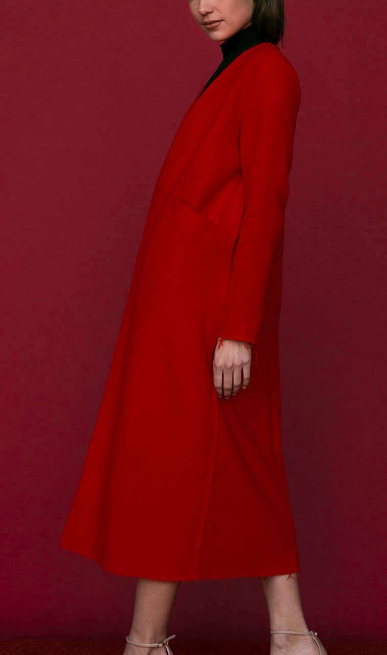 SALE | Cuttrell Coat in Red
