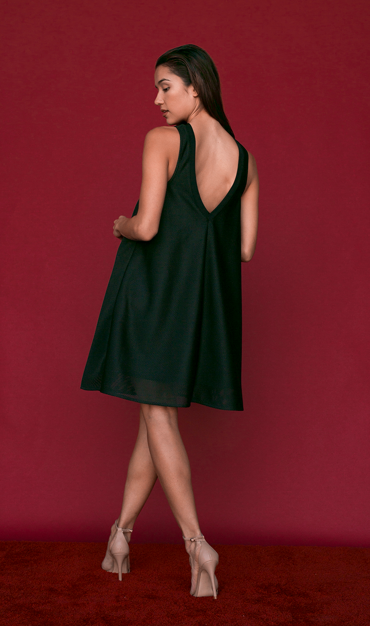 Haley Dress in Black
