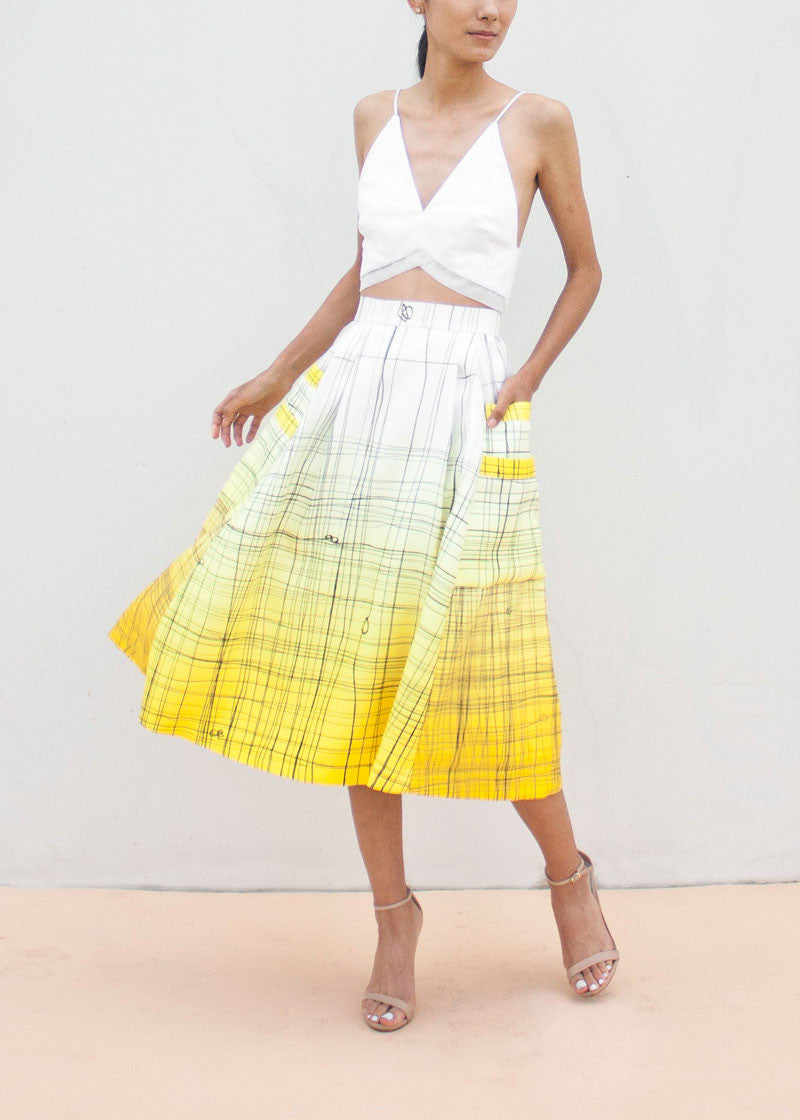 Cleo Skirt in Tie-the-Knot