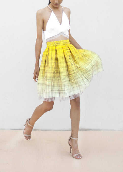 Exclusive // Erin Skirt in Tie-the-Knot